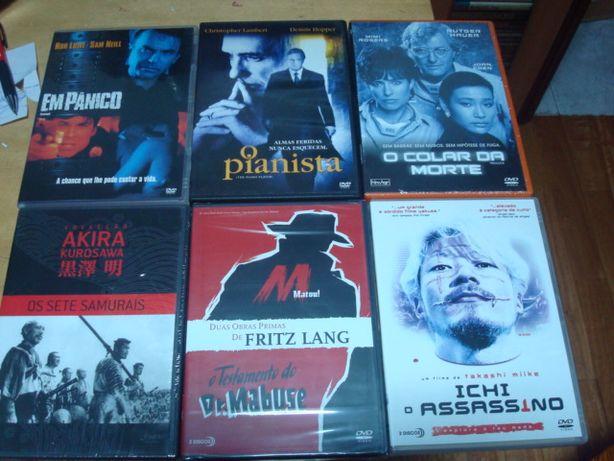lote 10 dvds originais alguns rarissimos