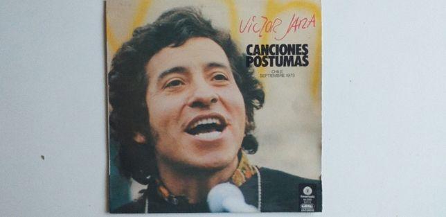 Victor Jara Canciones Postumas Vinil LP