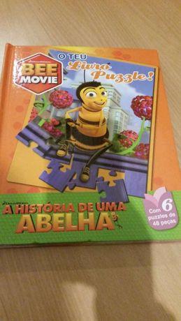 Livro A História de uma Abelha BEE MOVIE - Dream Works