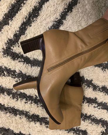 Кожа натуральная,ботинки