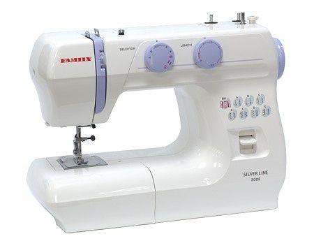 Швейная машинка FAMILY SILVER LINE 3008