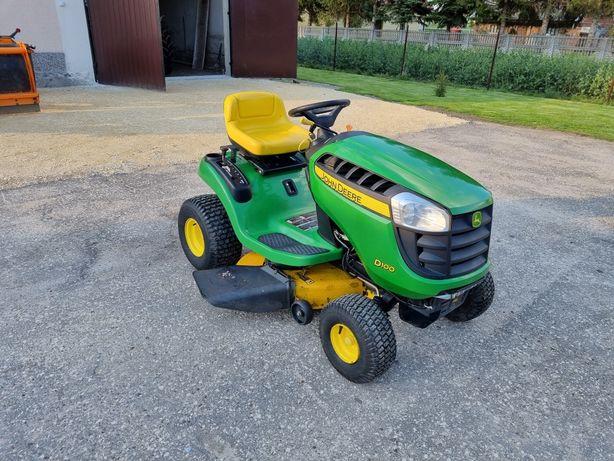 Traktorek ogrodowy kosiarka John Deere