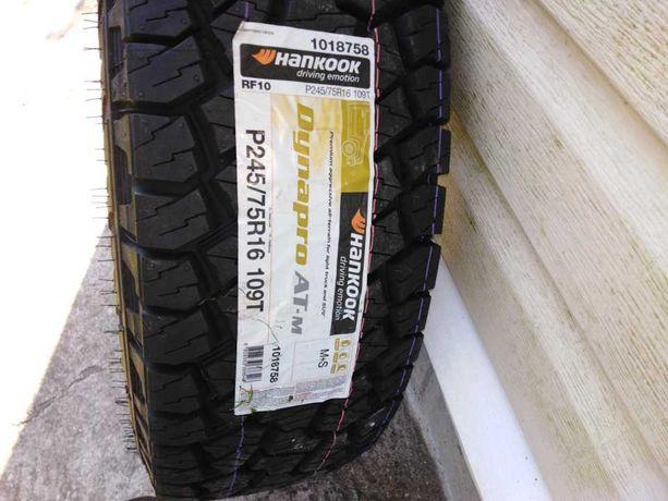 245/75 R16 Hankook Dynapro AT2, Всесезонные внедорожные шины 245.75.16