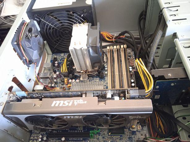 Мощный компьютер. 6ядер 12 потоков, 12 оперативки. GTX 460.