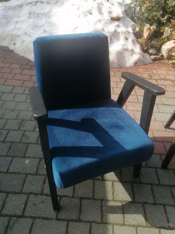 Fotel PRL odnowiony