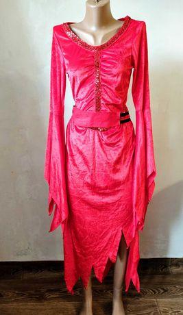 Платье женское 44-46 Хеллоуин Хэллоуин костюм карнавальный