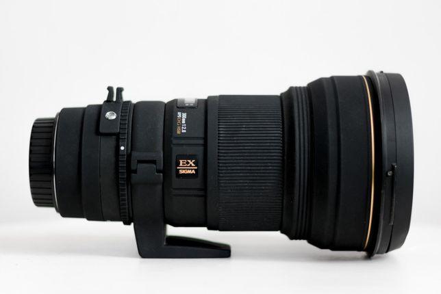 Sigma 300mm 2.8 EX DG APO HSM dla Canon EF teleobiektyw obiektyw