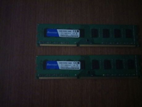 Оперативная память 2x4гб ддр3 для амд частота 1600