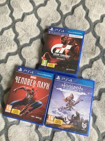 Продам новые диски на PS4 PS5
