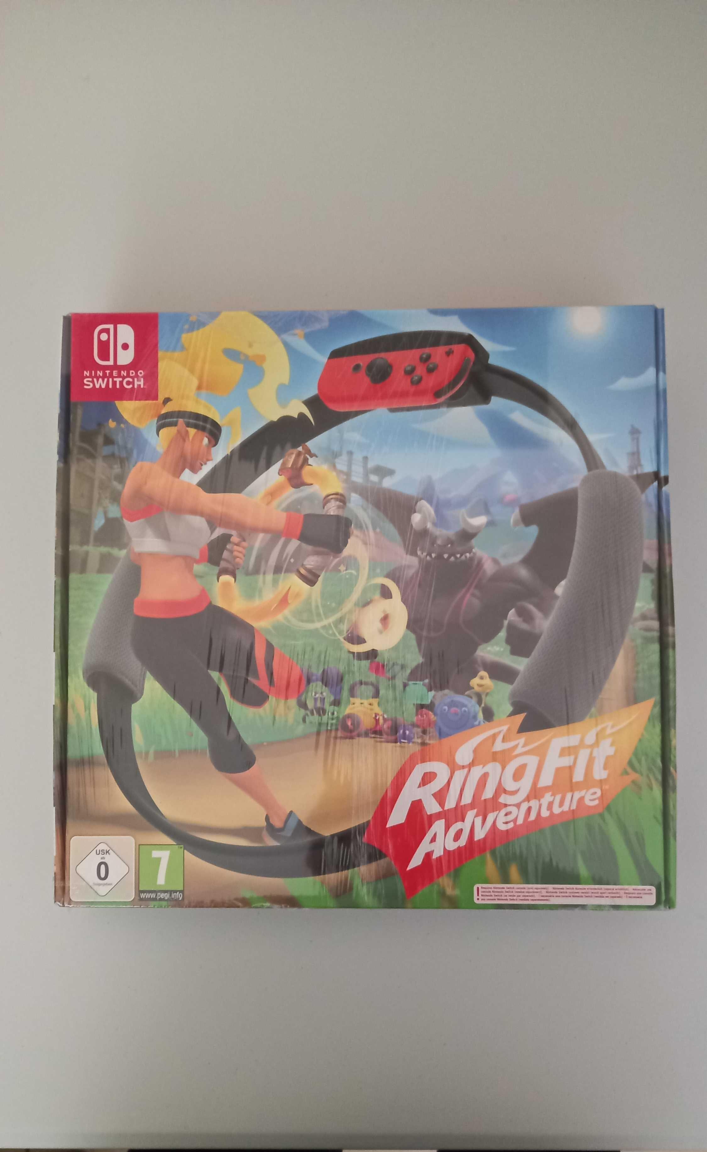 Jogo Nintendo Switch Ring Fit Adventure (Novo e Selado)
