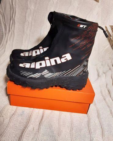 треккинговые водонепроницаемые ботинки мотоботы Alpina 39р