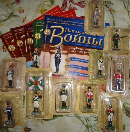 Оловянные солдатики Наполеоновские войны коллекционные
