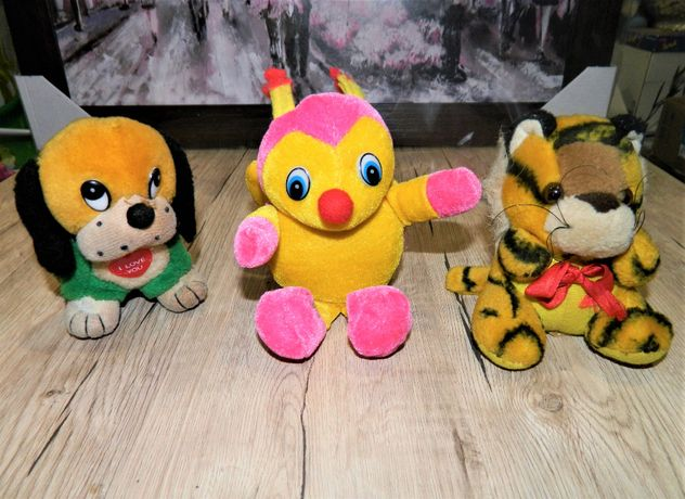 Мягкая игрушка Собачка Тигрёнок Пчела