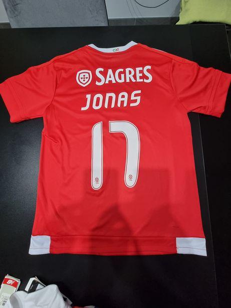 Camisola Jonas Benfica