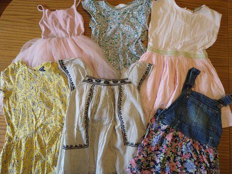 Sukienki Zara, next, h&m