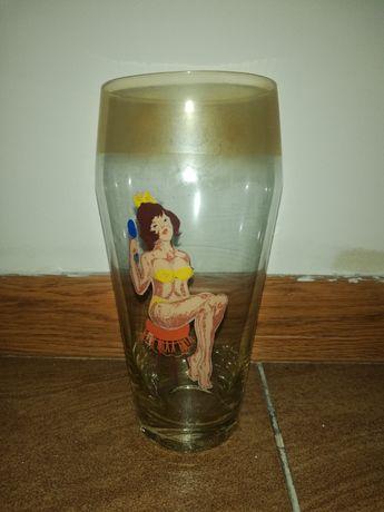 Pokal, szklanka, lata 80