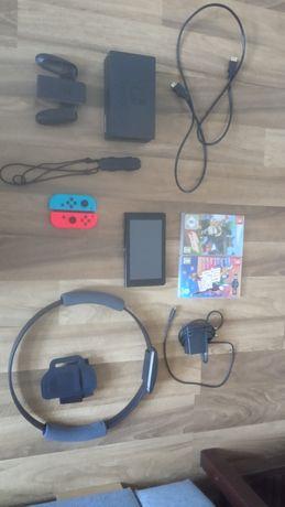 Nintendo Switch v2 + gry / zamiana na ps4 lub Oc. Quest
