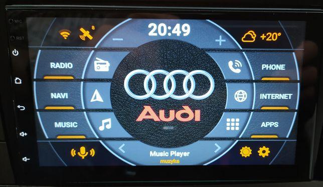 Radio samochodowe 2 DIN Android 9.1 RDS GPS Nawigacja WiFi Bluetooth
