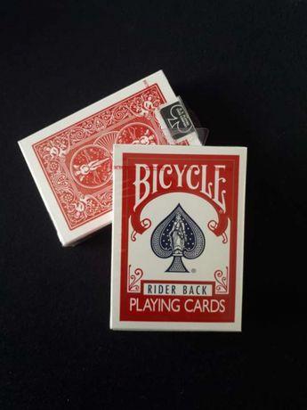 Baralhos de cartas Bicycle Novos e Selados (Rider back Vermelho)