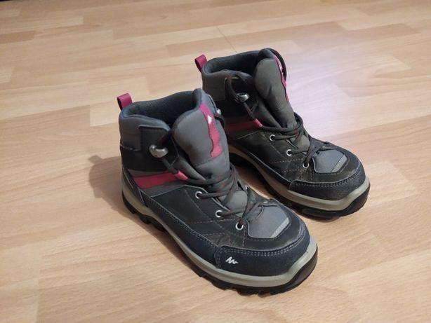Buty trekkingowe MH500 MID WTP dla dzieci rozmiar 33