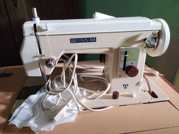 Stara maszyna do szycia Predom Łucznik 414