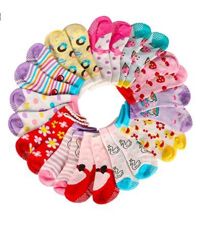 Skarpetki Antypoślizgowe Dziecięce 10-24M (12 Par)