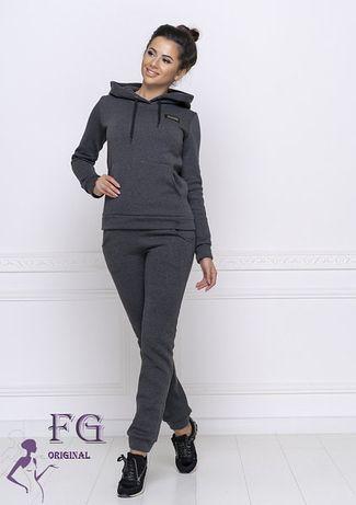 Женский теплый спортивный костюм на флисе