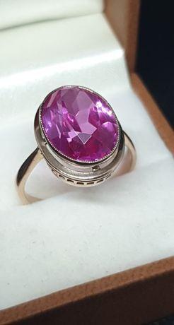 Złoty pierścionek landryna