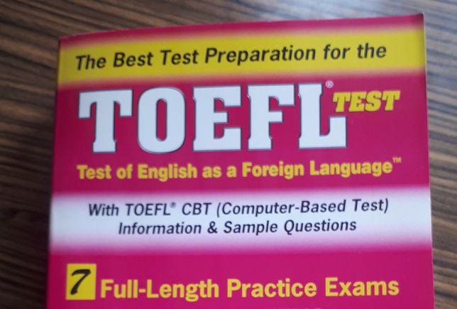 TOEFL książka do egzaminu (język angielski) wyd REA
