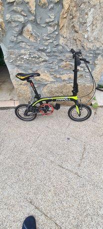 Bicicleta Farroll desdobrável