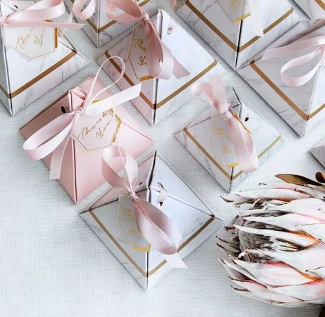 Pudełka dla gości na ślub, wesele, przyjęcie