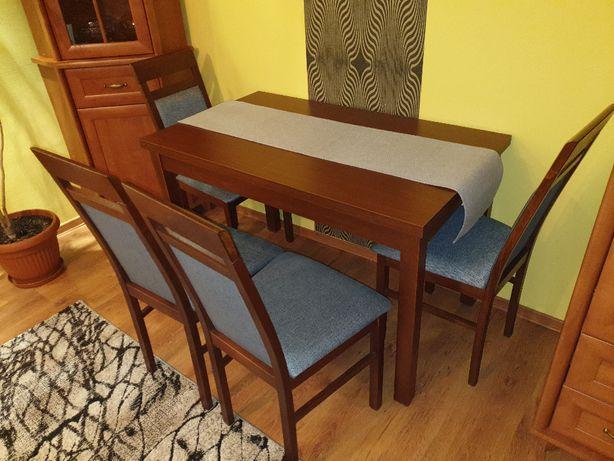 Stół rozkładany + 4 krzesła
