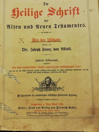 BIBLIA z roku 1866 r.