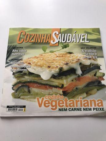 6 revistas culinária saudável legumes e vegetais