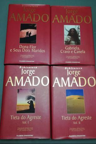 Vários livros de Jorge Amado