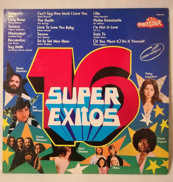 Colectâneas de êxitos anos 70/80 em vinil - vários Campo De Ourique - imagem 1