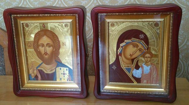Писаные Венчальные иконы.