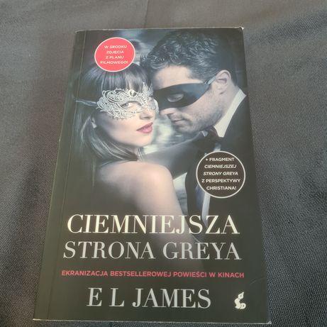 E. L. James - Ciemniejsza strona Greya. Okładka filmowa.