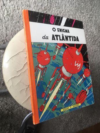O Enigma da Atlântida - Edição início anos 70