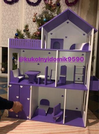 Кукольный домик Домик для кукол Домик для барби монстр хай