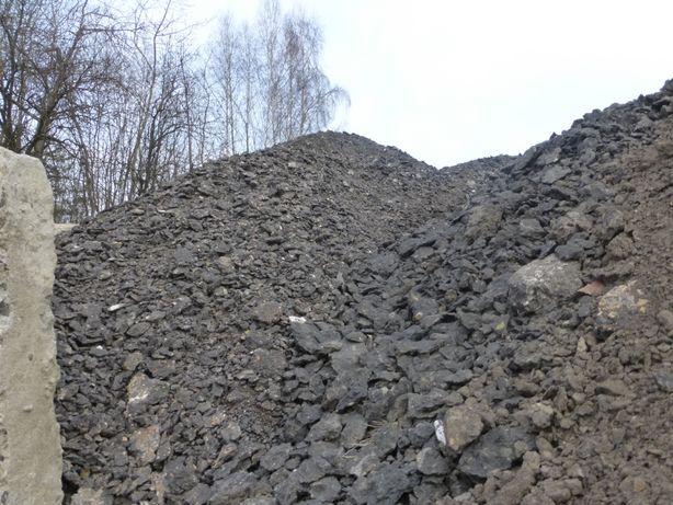 Frez asaltowy destrukt kora asfaltowa recyklina kruszywo transport