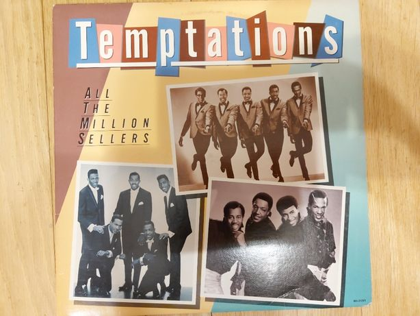The Temptations, All The Million Sellers .., USA, 1981, db-