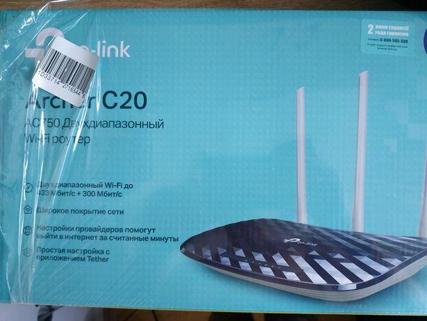 Маршрутизатор Ethernet TP-Link Archer C20 роутер