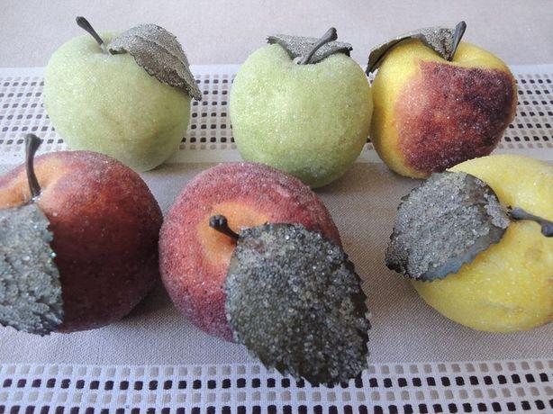 Jabłka, jabłuszka, martwa natura, ozdoby, dekoracja
