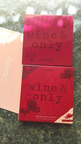 Burgundowa paleta cieni COLOURPOP Wine & only