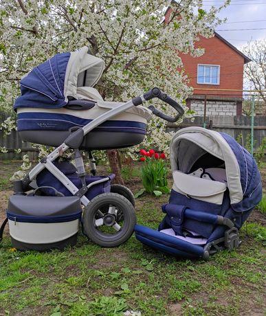Универсальная детская коляска 2в1 Tako Baby Heaven Exclusive Jean's