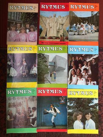 Выпуски Чехословацкого музыкального журнала Rytmus