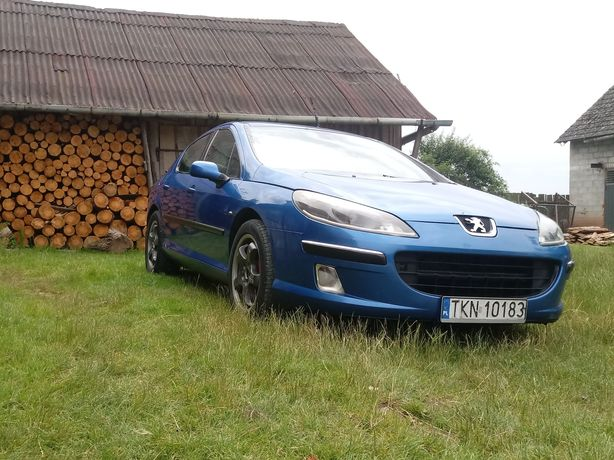 Peugeot 407 2.0Hdi 2004r klima 6 biegów