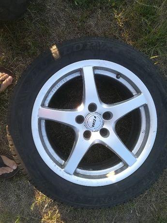 """Koła17"""" RIAL 5x112 ET 45 opony Dunlop Sport 4D 225/55 R17 101H M+"""