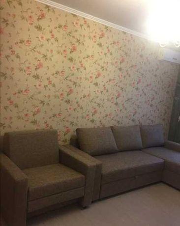 Здам 1-кімнатну квартиру вул. Богомольця. 5500+к/п. Довгий термін.